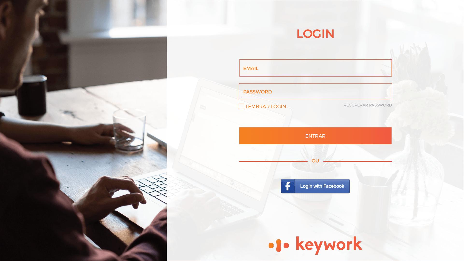 Desenvolvimento de sistema para a Keywork