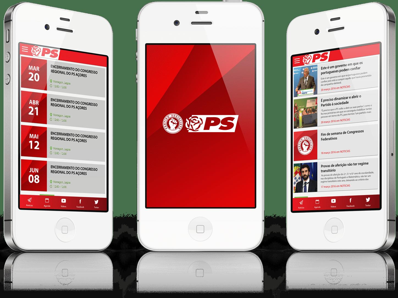 Desenvolvimento de app para o Partido Socialista