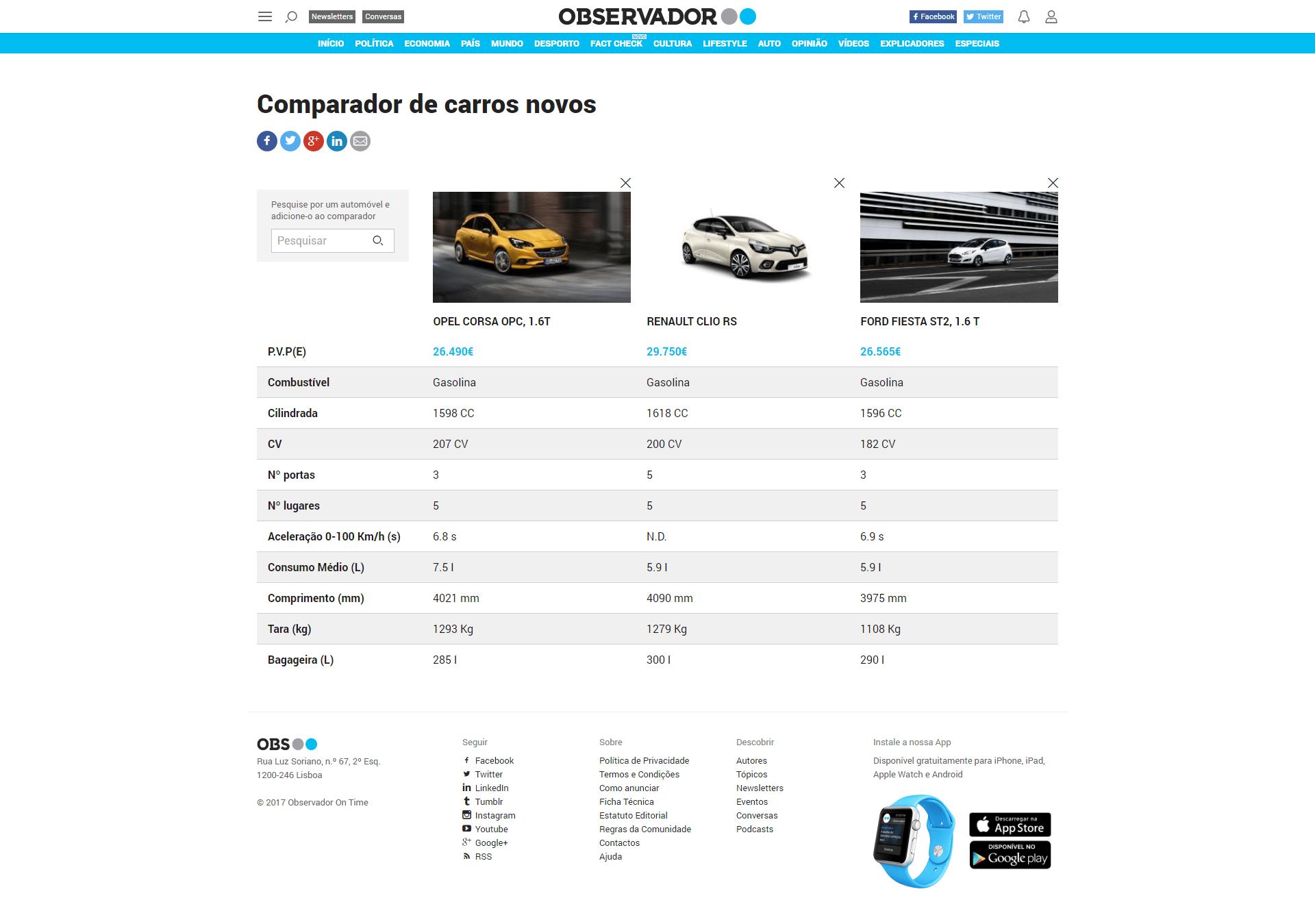 codefive - observador auto