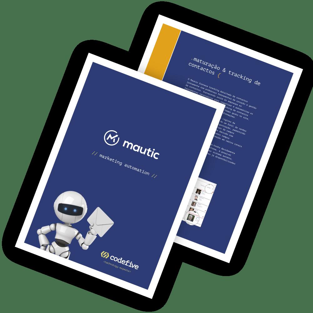 Folheto Mautic - Automação de Marketing Digital
